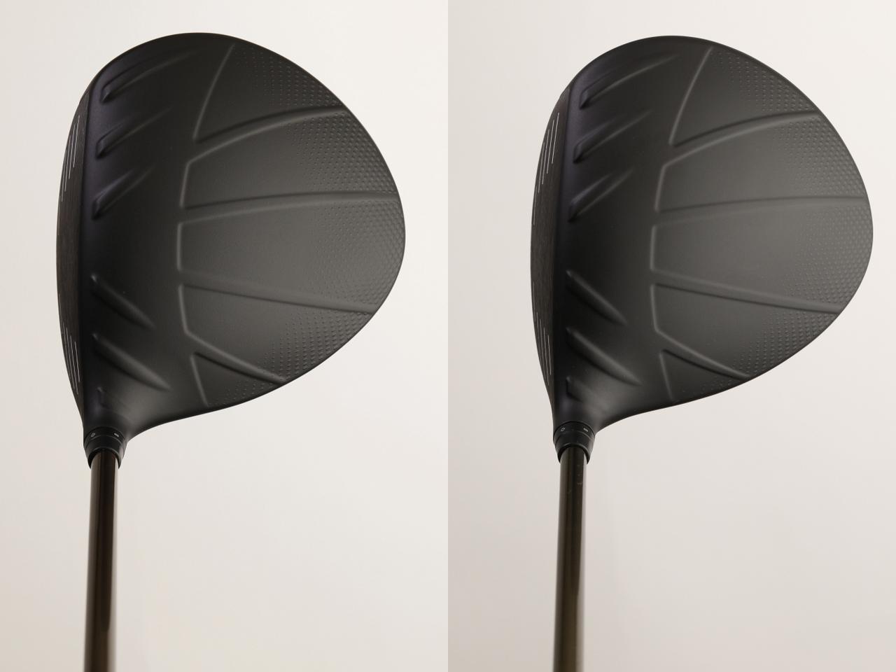 画像: 左がスタンダードで右がSFテック。はっきり言って、構えただけではどちらがどちらかわからない