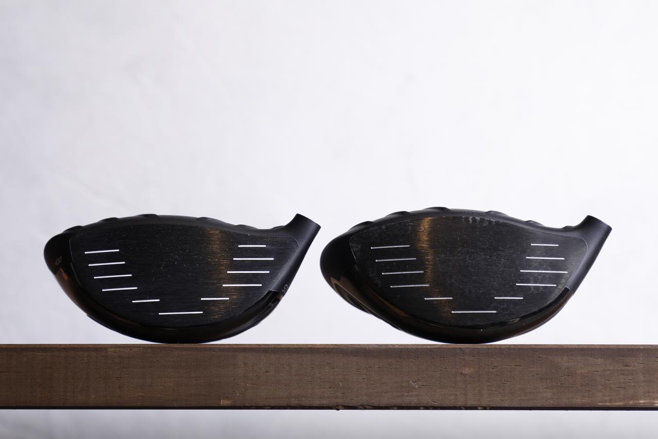 画像: 前モデル(左)に比べてディープフェースになっている