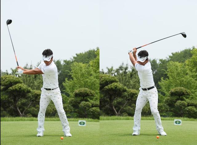 画像: ヘッドから動かすようにコックを積極的に使い縦にクラブを使う