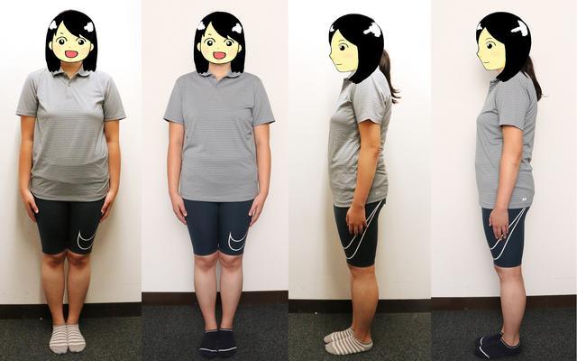 画像: 7月20日と7月27日の写真を比べてみた。正面と横撮影、7月20日(写真左)7月27日(写真右)。あんまり変わらないですね……