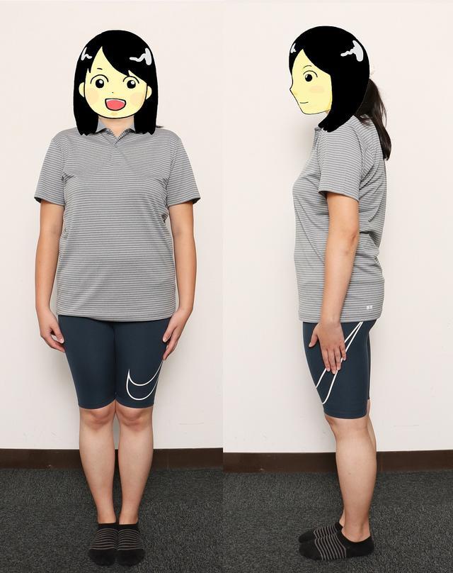 画像: 第2回は体重68.9キロ。体重は増えたものの、体の中身は確実に変わっていたんですね!