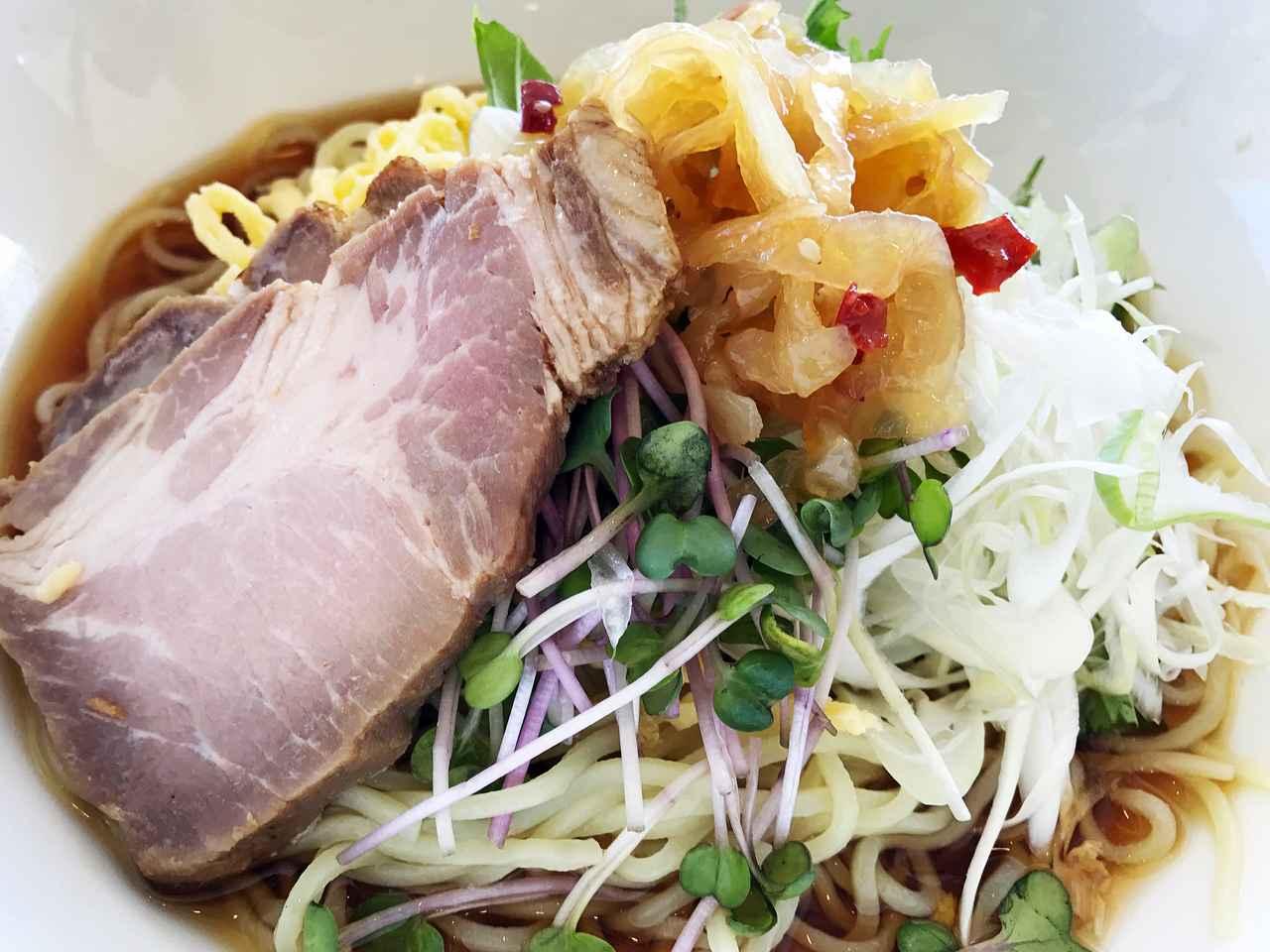 画像1: この王道の味わいは「グラン冷やし中華」と言いたくなる