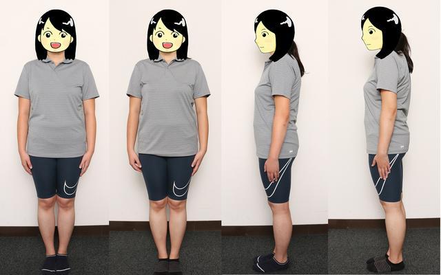 画像: 第2回と第3回を比べてみた。正面後方右側の写真が第3回。ちょっと姿勢が良くなったかな……?