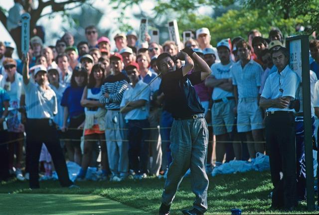 画像: ジャンボこと尾崎将司は1989年全米オープン最終日のバックナインで首位に立っていたがその後崩れ6位(写真:1989年全米オープン)