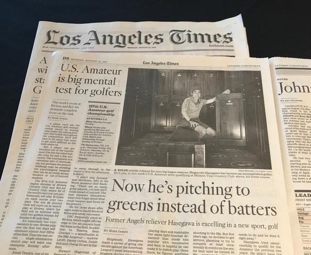 画像: 地元のロサンゼルスタイムスでも取り上げられた