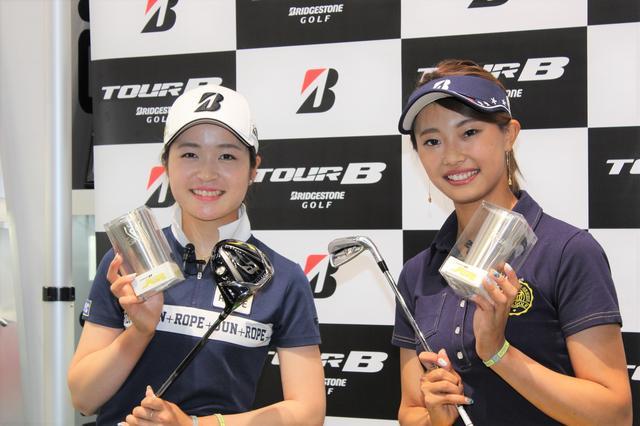 画像: 女子ゴルフ界大注目の若手ゴルファー三ヶ島かな・川﨑志穂、人生初のトークショーに潜入 - みんなのゴルフダイジェスト