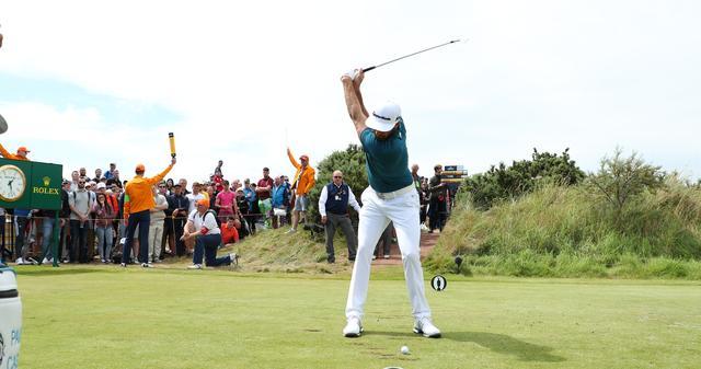 画像: 「肩を下げる」が合言葉。僕らにもできる!? ダスティン・ジョンソンの距離感ピッタリアイアン【勝者のスウィング】 - みんなのゴルフダイジェスト