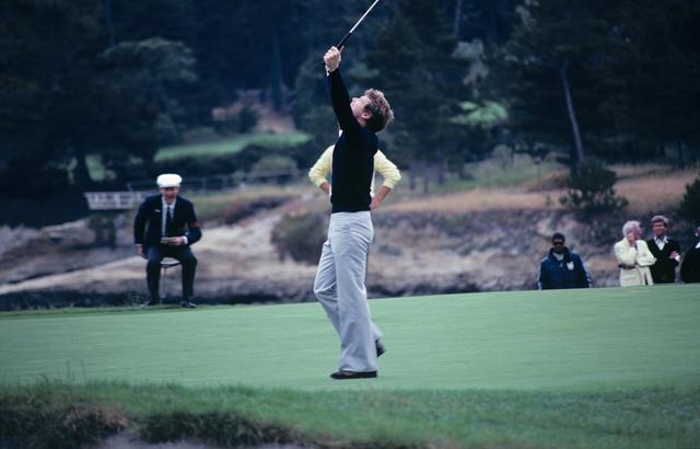 画像: 勝負を決めたチップインバーディはゴルフ名場面の一つ(写真:1982年全米オープン 最終日)