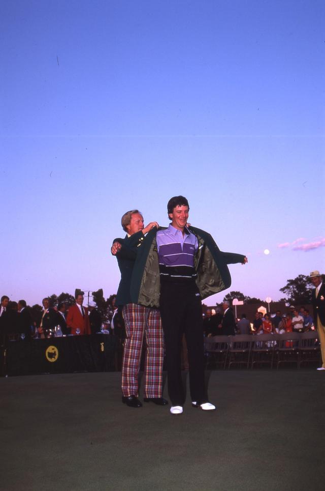 画像: ジャック・ニクラスがグリーンジャケットを着せた最後の選手(写真:1987年マスターズ 最終日)