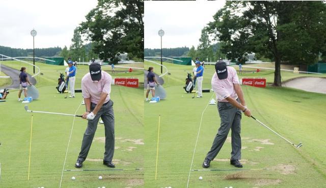 """画像: 見習いたい! 58歳、ラリー・マイズの""""アラ還""""でも上達する練習法 - みんなのゴルフダイジェスト"""