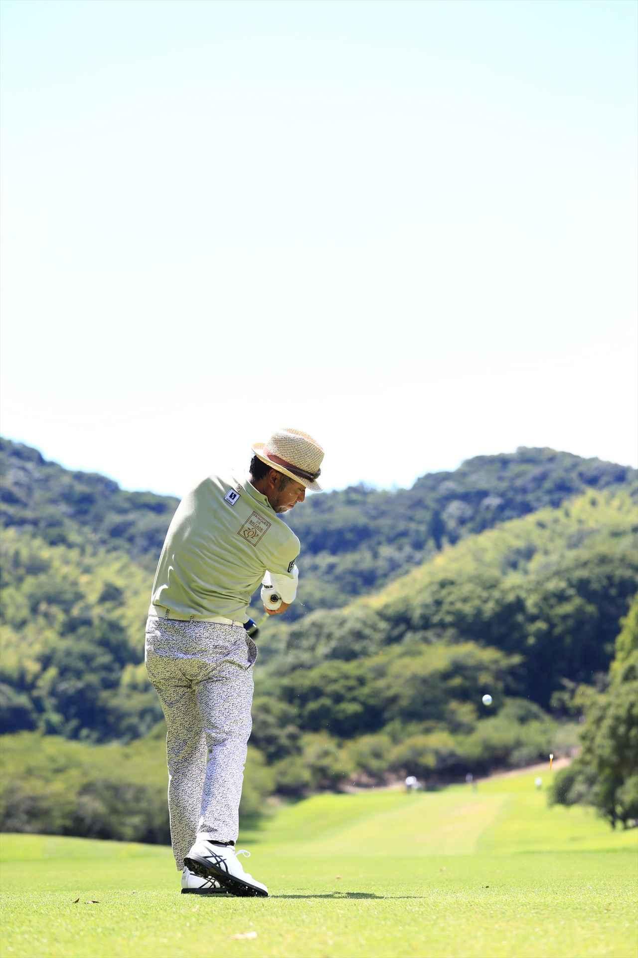画像10: 衰えを知らない44歳、片山晋呉の究極オンプレーン【勝者のスウィング】
