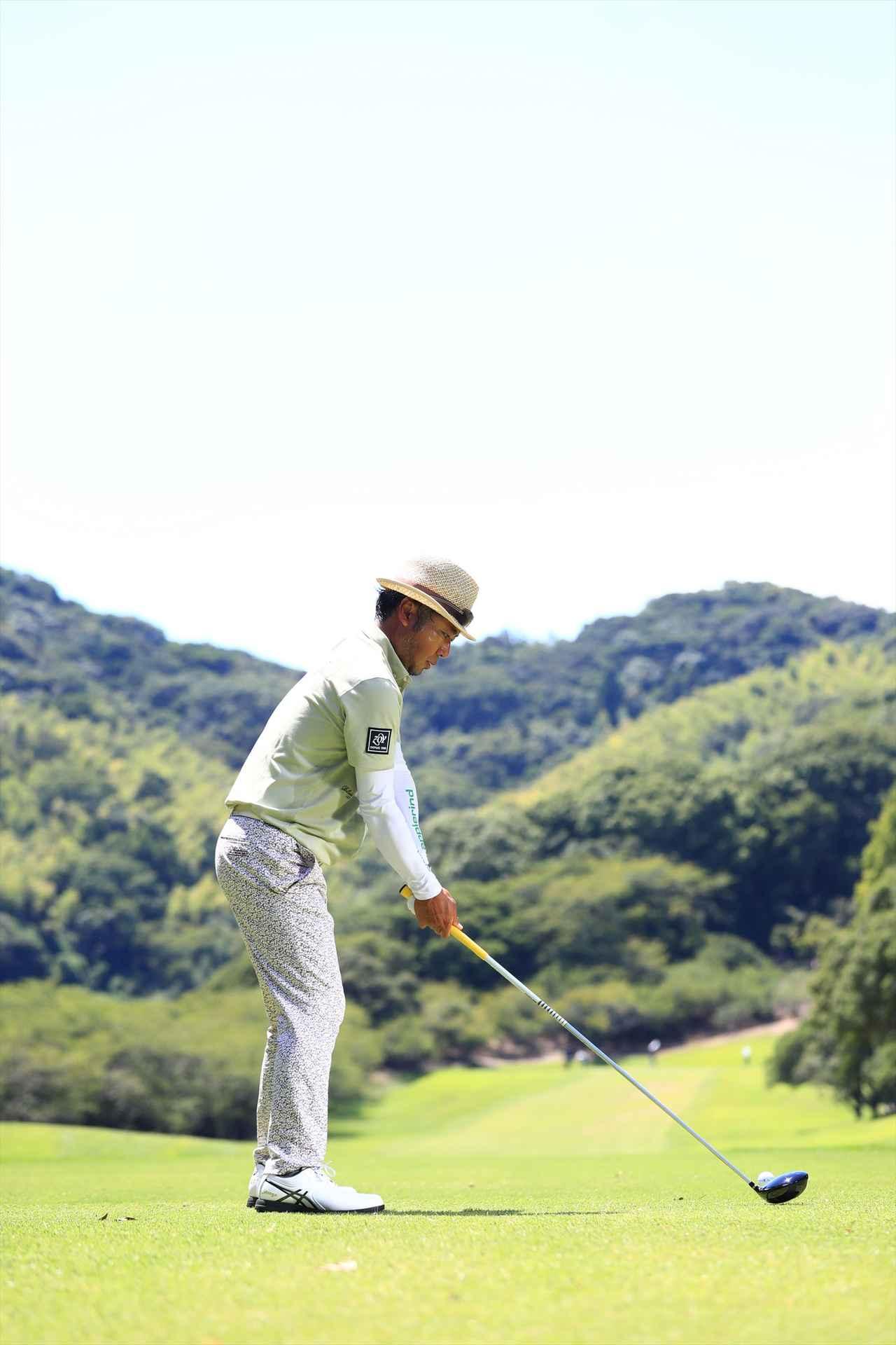 画像2: 衰えを知らない44歳、片山晋呉の究極オンプレーン【勝者のスウィング】
