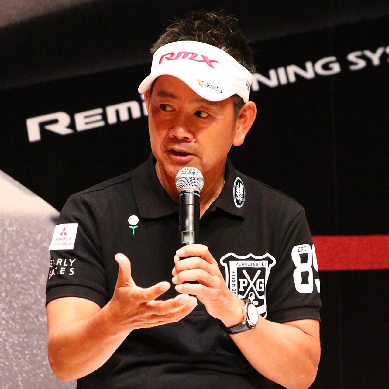 """画像: 「プラス7ヤード飛んでます」と藤田寛之も太鼓判。ヤマハ""""新RMX""""登場! - みんなのゴルフダイジェスト"""