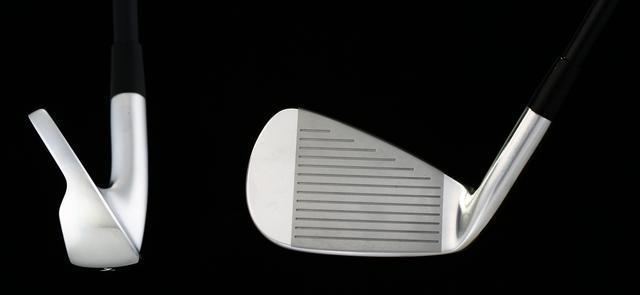 画像: ソールはワイドでやさしさを感じさせる。フェースも、他の2モデルに比べると1.5回りくらい大きい