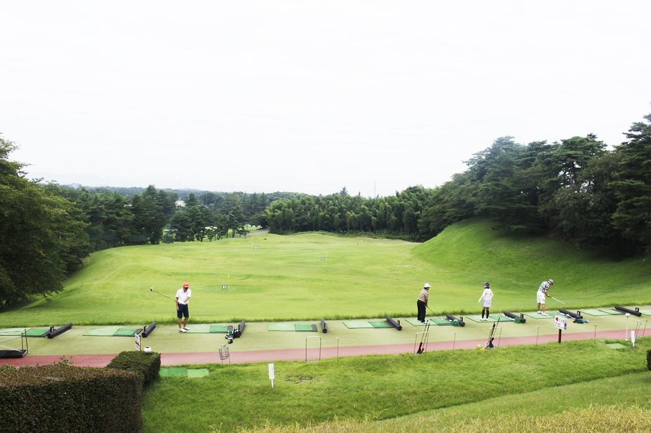 画像2: 中村寅吉設計の難易度特Aの丘陵コース