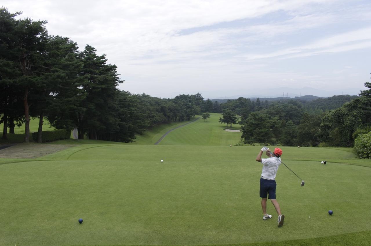 画像4: 中村寅吉設計の難易度特Aの丘陵コース