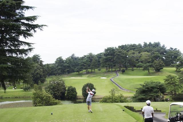 画像7: 中村寅吉設計の難易度特Aの丘陵コース