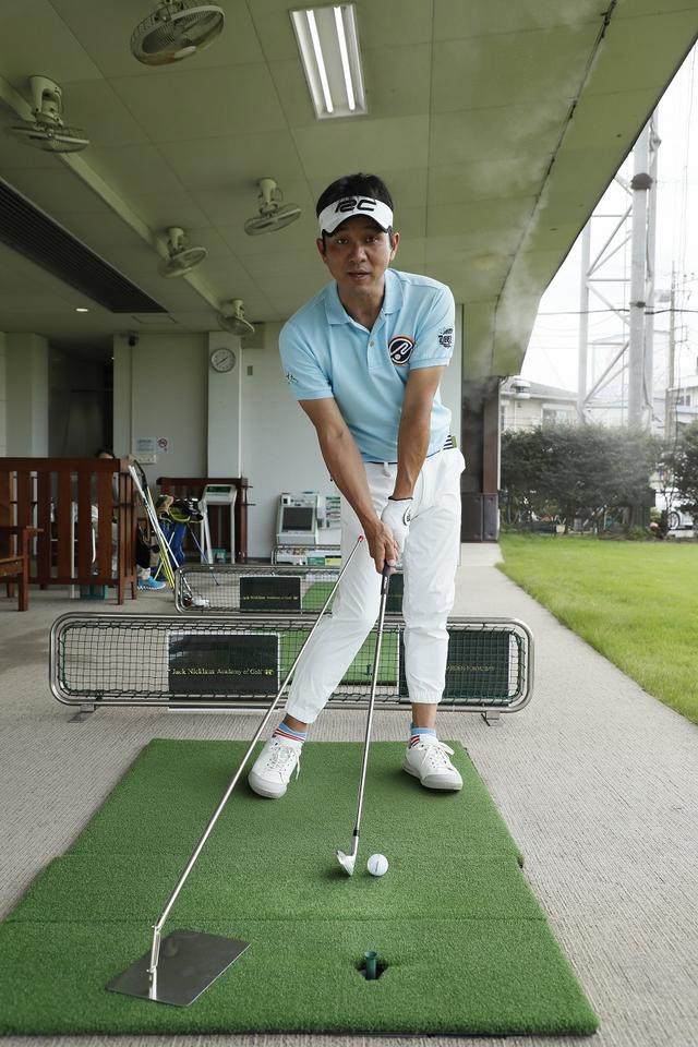 画像: 「マモル君での練習をしっかりとこなすことで、きれいなスウィングかつきれいな球が生まれるんです」(横田)