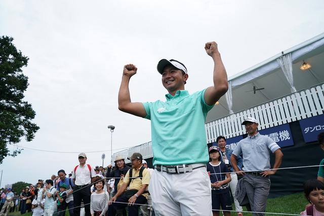 画像: 勝ちたい試合で、見事勝利。歓喜の涙を流した(2017年アジアパシフィックダイヤモンドカップゴルフ 最終日、写真/姉崎正)