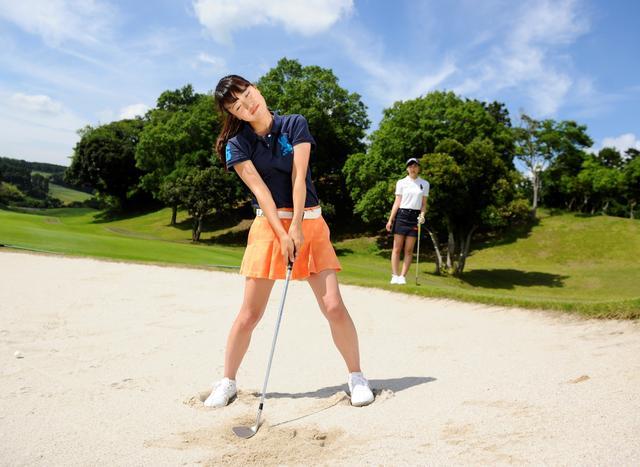画像: 「けっこう軟らかい砂だったのね……」トントン
