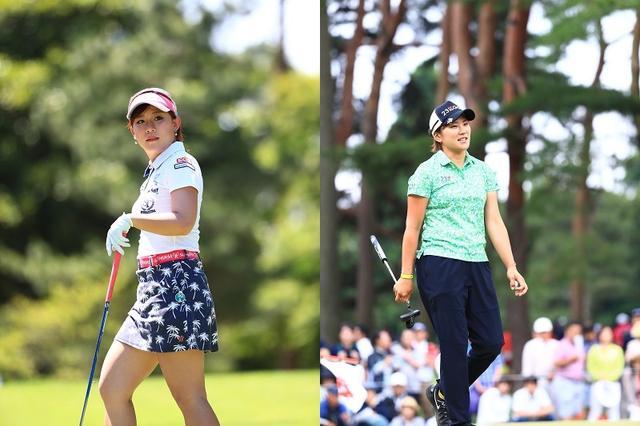 """画像: 日本女子オープンを制するのは香妻琴乃か成田美寿々が""""最有力""""!? 最年長優勝者と平均年齢を調査した【ゴルフの数字】 - みんなのゴルフダイジェスト"""