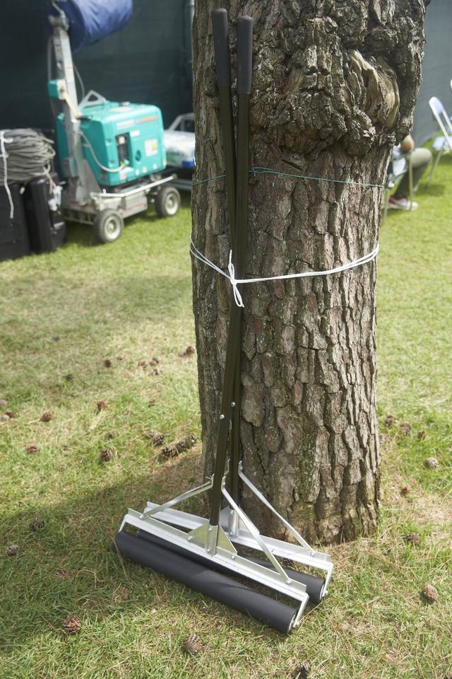 画像: こんな風に木にくくり付けられていることが多い