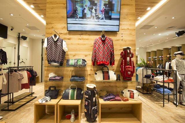 画像: ウッディに統一された店内にはメンズとレディースが半々で陳列されている。開放感があって、気持ちいい空間だ