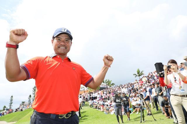 画像: 今シーズン3勝を挙げている宮里優作。賞金王に輝くことができるのか?(2017年日本プロゴルフ選手権)