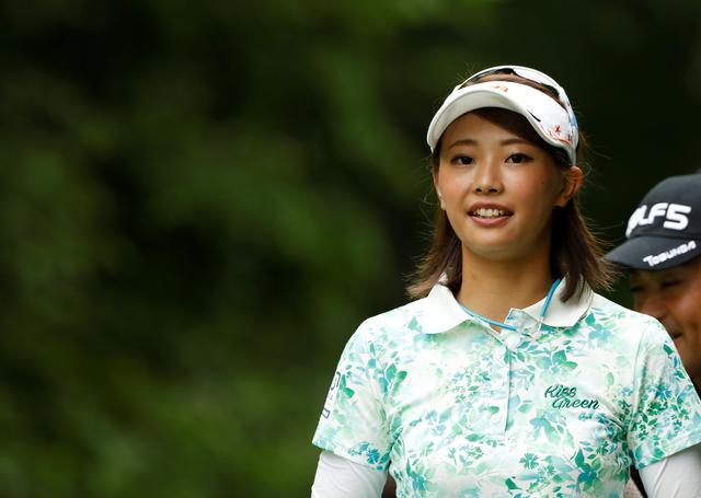 """画像: 美人女子プロ・川﨑志穂が自己分析。「私が""""260ヤード""""飛ばせる理由」 - みんなのゴルフダイジェスト"""