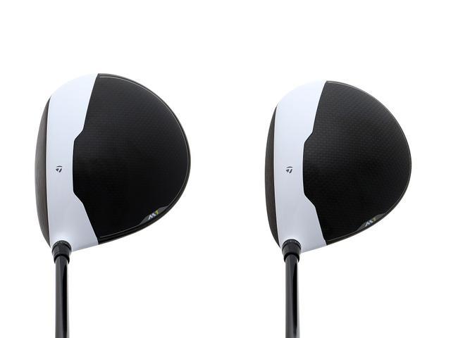 画像: 「460」は構えたときの安心感が強い(左)。「440」は逃げ顔のディープフェース(右)。ヘッドの大きさは比べると一目瞭然
