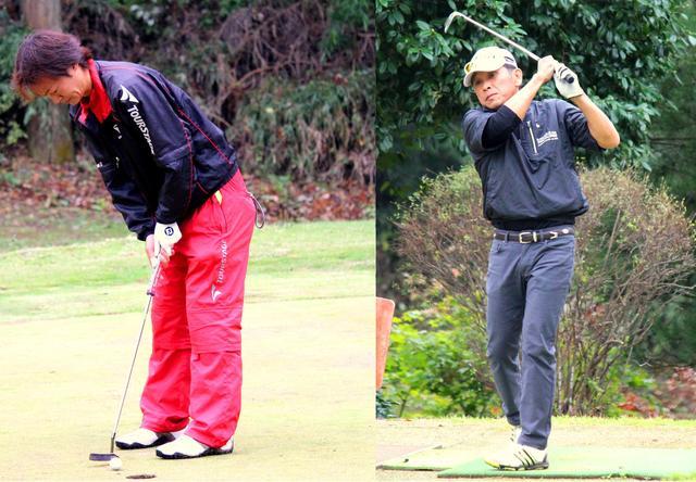 画像: 関東Aブロックメダリストの関口豊範選手(左)、関東Aブロック5位の青木亨選手(右)