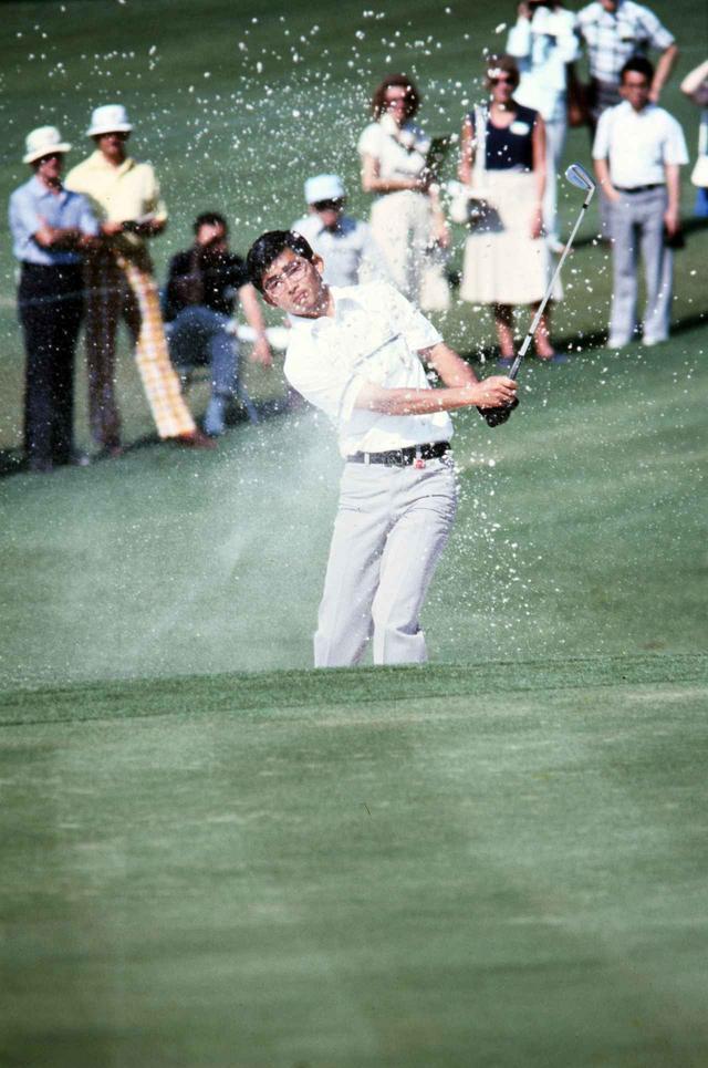 画像: オーガスタの舞台でもミズノを愛用した中嶋常幸(1978年マスターズ・トーナメント)