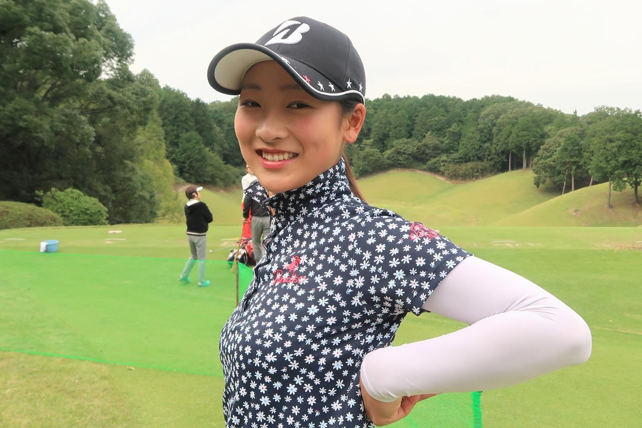 """画像: 「お腹に""""ホッカイロ""""貼ってます」松田鈴英、川﨑志穂がやっている、女子プロたちの寒さ対策 - みんなのゴルフダイジェスト"""