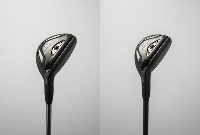 画像: 両モデルともロフトは23度。シャフトは純正のフジクラ社製 MCI 70(S)を使用