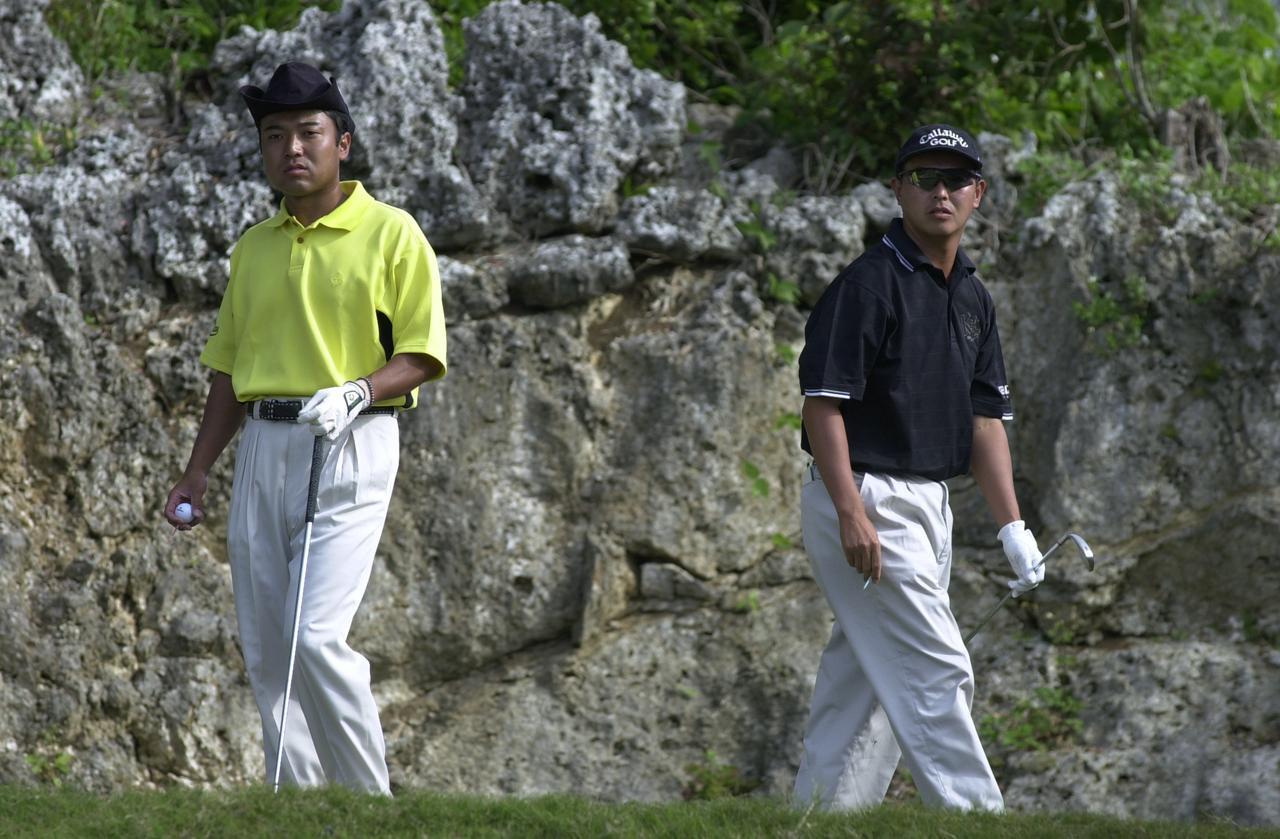 画像: 2000年代前半、賞金王争いを繰り広げた片山晋呉と谷口徹