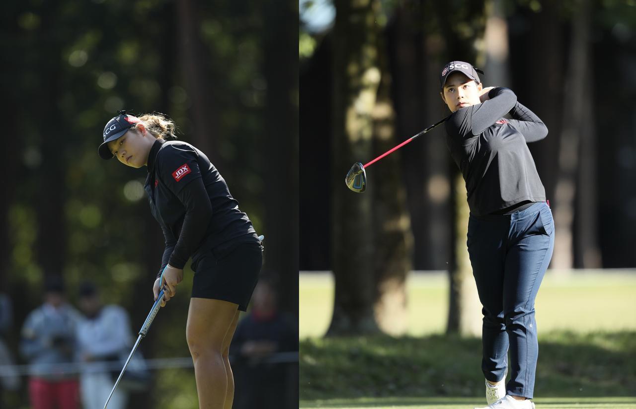 画像: 左がアリヤ、右がモリヤ