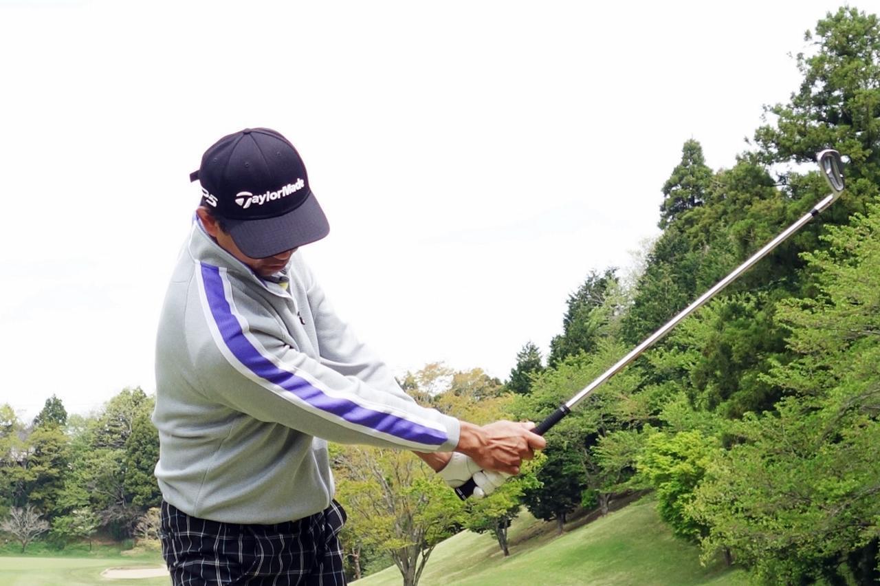 画像2: 手をカラダの正面にキープできると、球がつかまってラインが出せる