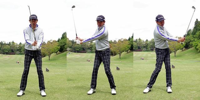画像7: 手をカラダの正面にキープできると、球がつかまってラインが出せる