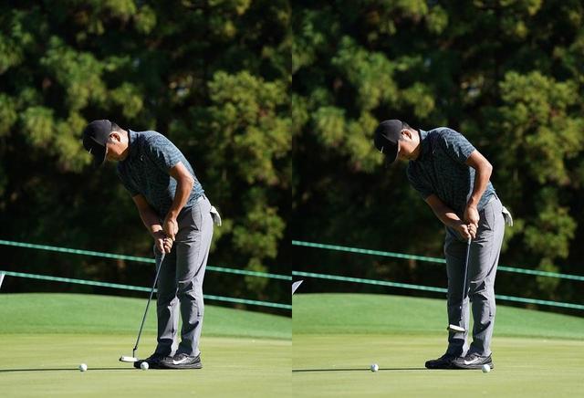 """画像: 「インパクト直後からボールに順回転をかけるには、左ひじを""""抜く""""こと。なるべくフェース面の角度を変えず、ロフトどおりに当てて、引き上げるだけです」(時松)"""