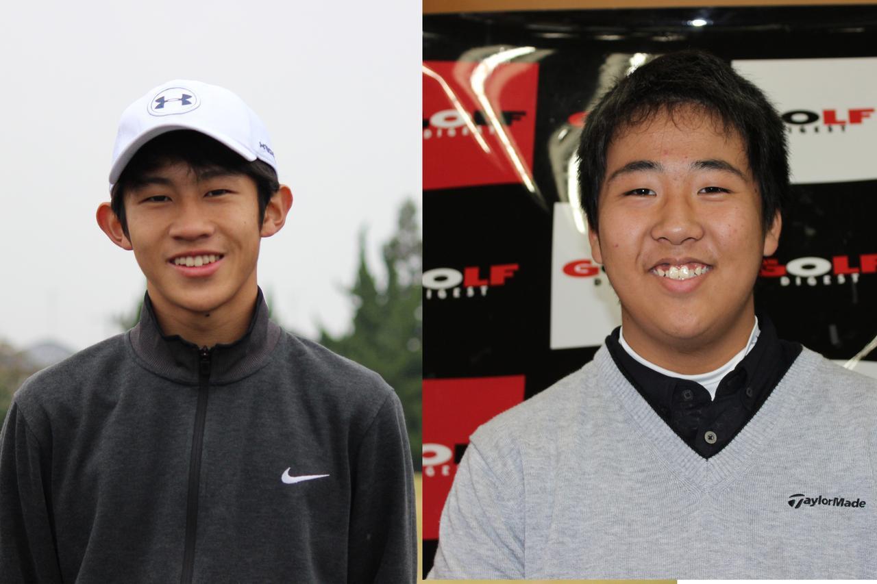 画像: 中川拓海選手(左)と鈴木聡馬選手(右)