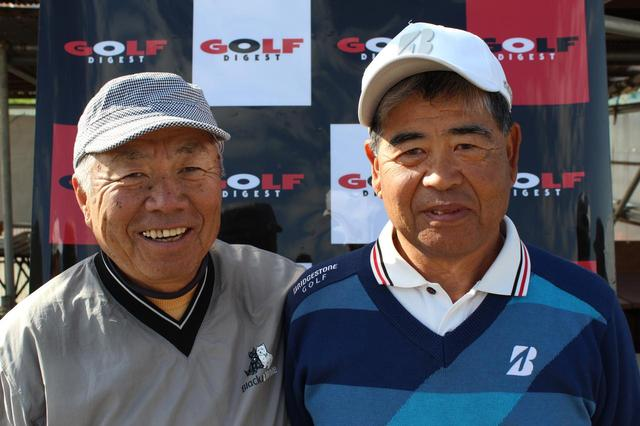 画像: メダリスト 佐藤典生(左)小野孝司(右)