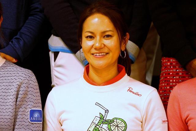 画像: 終始笑顔でイベントを楽しんだ宮里藍プロ