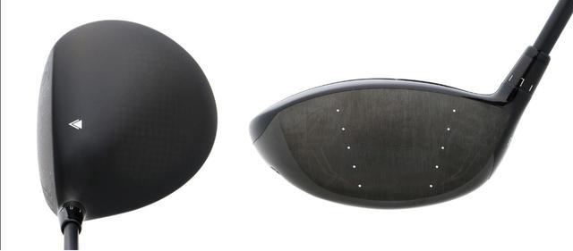 画像: ヘッド体積は450CC。フェース面の「縦研磨」によって余分なスピンを抑制している