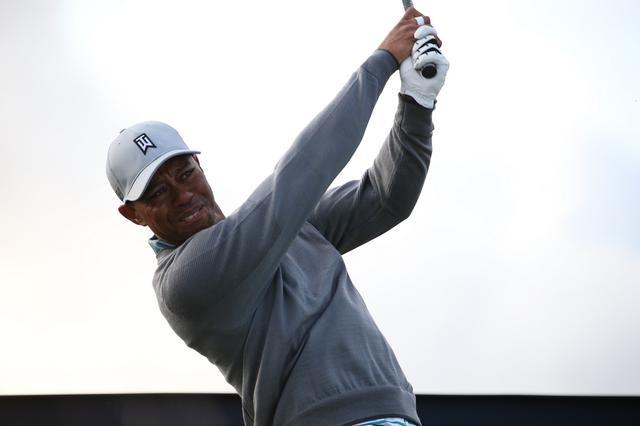 画像: タイガー・ウッズの登場がゴルフをアスリートスポーツに変えた(2015年全英オープン 練習日)