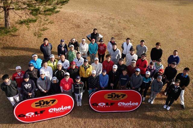 画像: プロアマ総勢50名の選手たちがショートコースで腕を競った