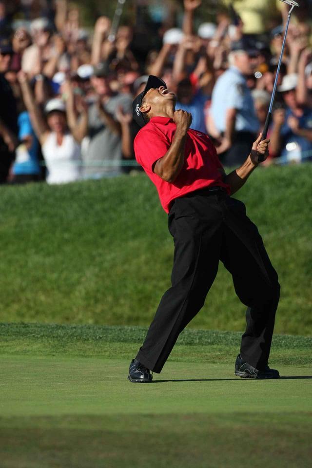 画像: トリーパインズGCで行われた2008年全米オープンを制したタイガー。現時点でこれがタイガーの勝った最後のメジャーでもある(写真:2008年全米オープン)