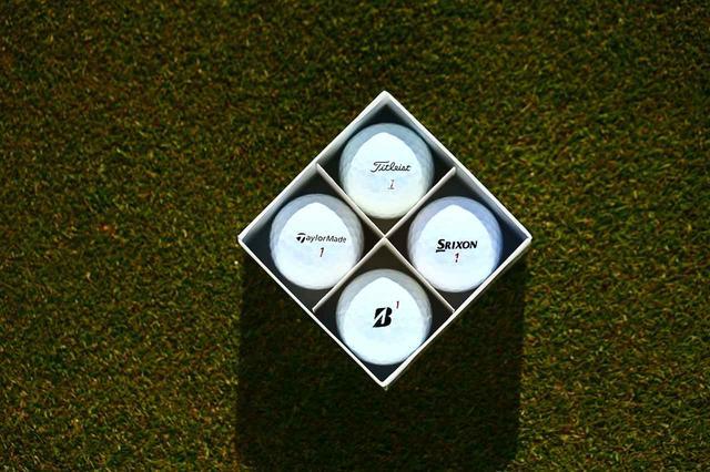 画像: セットBはタイトリスト「プロV1x」、スリクソン「ZスターXV」、テーラーメイド「TP5x」、ブリヂストンゴルフ「ツアーB X」の4種類