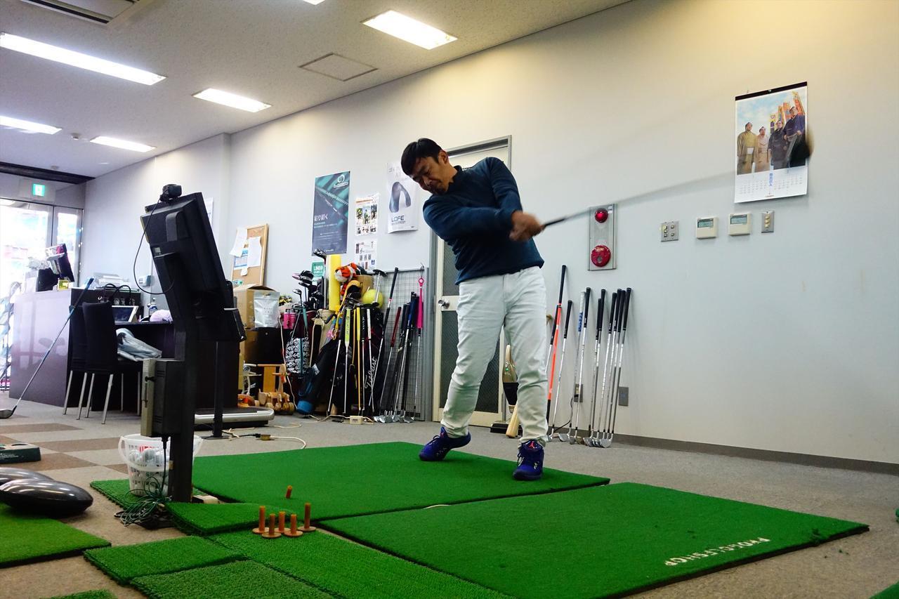 画像: 菅谷拓プロが、弾道計測器スカイトラックを使用し、3球打った平均値を掲載した。試打に使用したボールは「スリクソン Zスター XV」