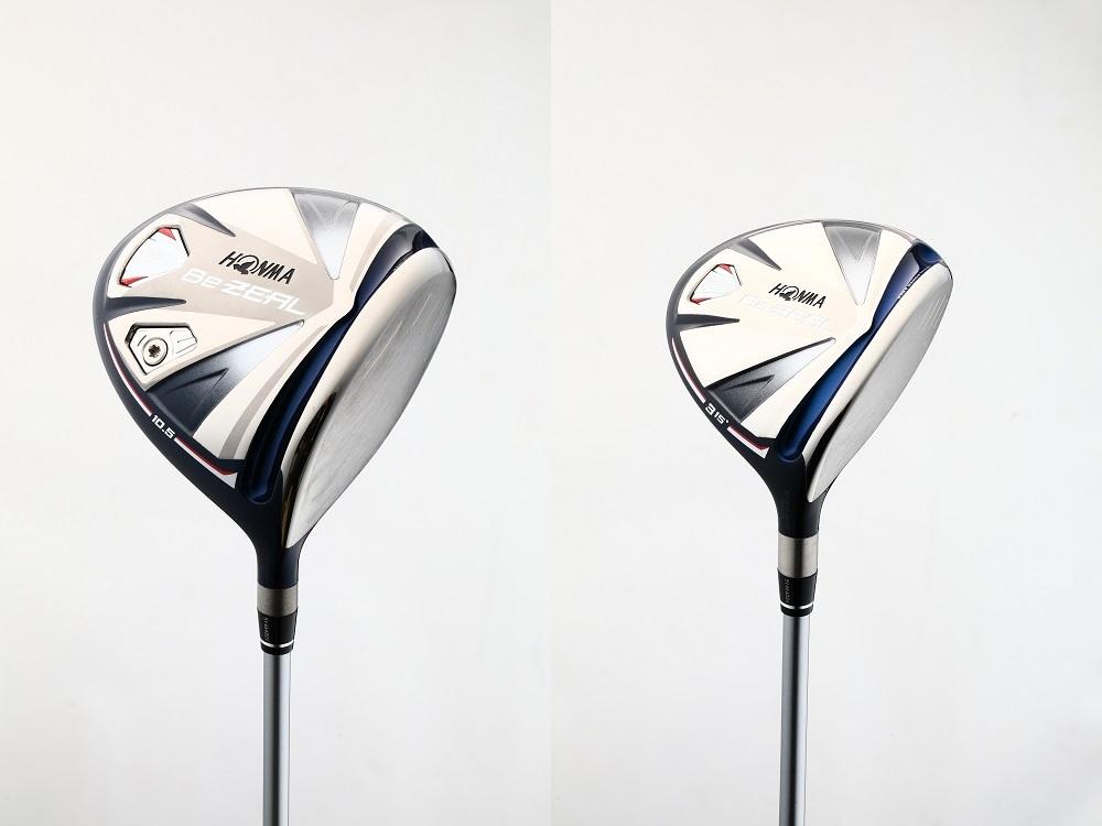 画像: ビジール535ドライバー(左)と、ビジール535フェアウェイウッド(右)3W(ロフト15度)をセットで1名の方にプレゼント