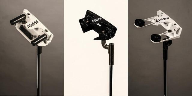 画像: 左から「R.INP」、「S.INP」、「N.INP」。それぞれ独特なネック形状をしている